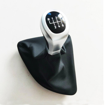 CNWAGNER 6 Speed Car Gear Shift Knob for BMW E87