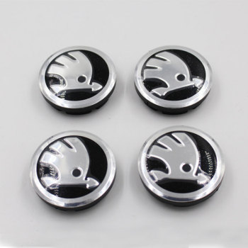Car Wheel Center Caps Hubcap 56 mm Wheel Center Hub Caps for Skoda Fabia