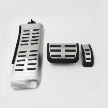 Gas and brake clutch pedal pad