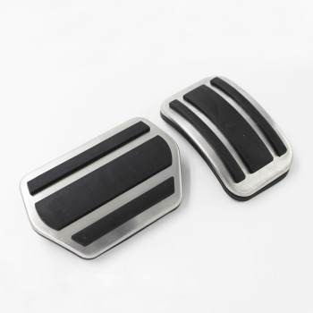 Custom universal gas and brake foot pedal pedals pad pads rubber covers for Peugeot