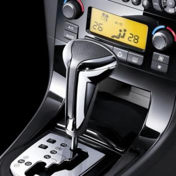 CNWAGNER black cap, leatehr knob, 12345R Car Gear Shift Knob for  BMW Audi VW