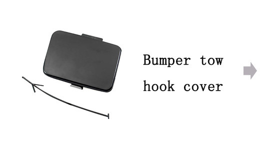 Bumper Tow Hook Cover