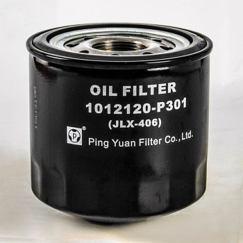 Iron shell Oil filter  Isuzu truck parts