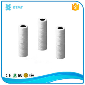 China Supplier Cotton String Wound Filter Cartridge with stainless steel core