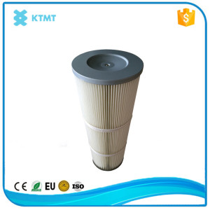 PTFE membrane coated Spun Bonded Polyester Air Filter Cartridge