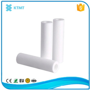 Polypropylene spun filter cartridge for industrial water treatment