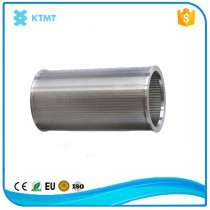 Wedge Wire Stainless Steel Johnson Screen Filter Pipe For Water Pump