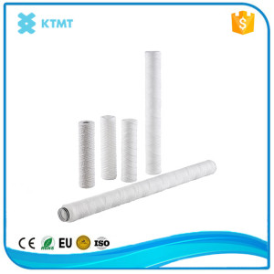 40 inch 5 micron pp yarn filter cartridge for corona beer filtration