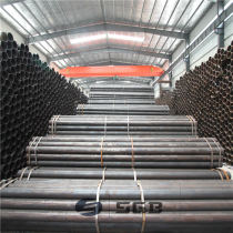 Carbon round welded steel pipe——China baogang steel pipe
