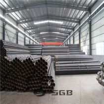 carton steel tube ERW welded round scaffolding /greenhouse steel pipe
