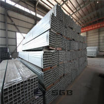 GI Tube / Pre galvanized Square Pipe / Galvanized Fence Tubing