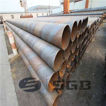 API 5L OIL / GAS PIPE LINE / SPIRAL WELDED STEEL PIPE