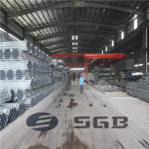 Schedule 40 Threaded c/w coupling and Plastic Caps Hot Dipped Galvanized Carbon Steel Pipes Factory