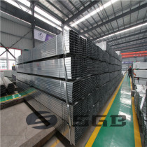pre galvanzied section galvanized square steel pipe for sale with low price