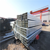 S235JR Pre / hot dipped Galvanized Welded Rectangular / Square Steel Pipe/Tube/Hollow Section/SHS / RHS