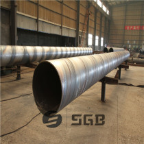 Big OD SSAW Spiral steel pipe