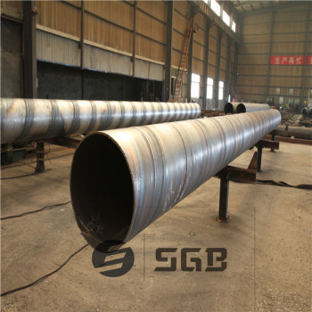 API 5L X42-X70 PSL1 PSL2 Spiral Welded Steel Pipe Used for fluid oil gas pipelines