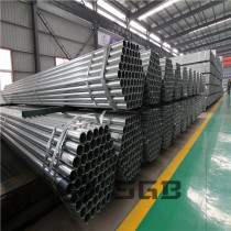 Factory of pre Galvanized steel pipe / carbon steel pipe/ pre galvanized round pipe