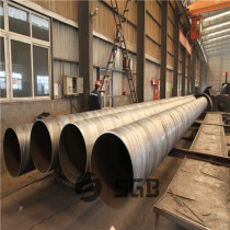 Chinese Standard GB Q235B SSAW Spiral Welded Carbon Steel DN1200 Pipe In Panic Price Per Ton