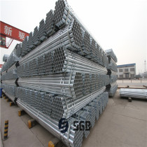 Tianjin erw Hot dipped galvanized round steel pipe/gi pipe pre galvanized steel pipe galvanised tube for