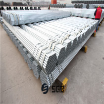 China hot dipped galvanized steel pipe/ASTM A106 GR B galvanized steel pipe building materials with high quality