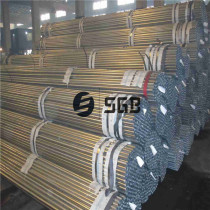Astm a53 schedule 20 40 80 black low carbon Erw galvanized steel pipe / tube weight