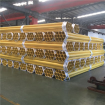 Large Diameter Galvanized Plastic Coated Steel Pipe For Water Supply