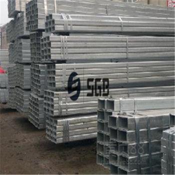 Manufacturer price, 40 80mm pre-galvanized ERW Structural Rectangular Steel Pipe