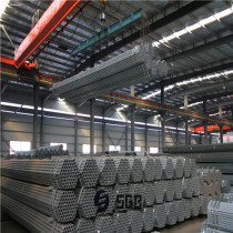 ERW round galvanized schedule 40 steel pipe