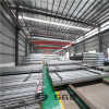 China factory green housed used galvanized steel pipe