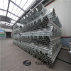 China Factory ERW Thin Wall Thickness Pre-Galvanized/ GI Column Shape Steel Pipe for Construction