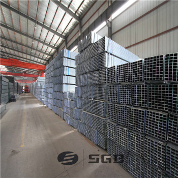 Q195-Q235 pre-galvanized steel pipe/galvanized square pipe galvanized steel pipe, tube