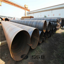 API 5L high quality ssaw steel pipe , SSAW Water Pipe Line / Spiral Welded Steel Pipe