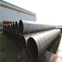 ASTM A53 Gr. B Black ERW Welded Steel Pipes Schedule 40 Round Section For Oil Gas and Water Pipes