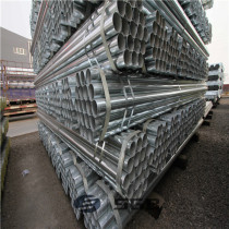 BS1387 Hot Dip Galvanized rigid Steel Pipe EMT conduit pipe