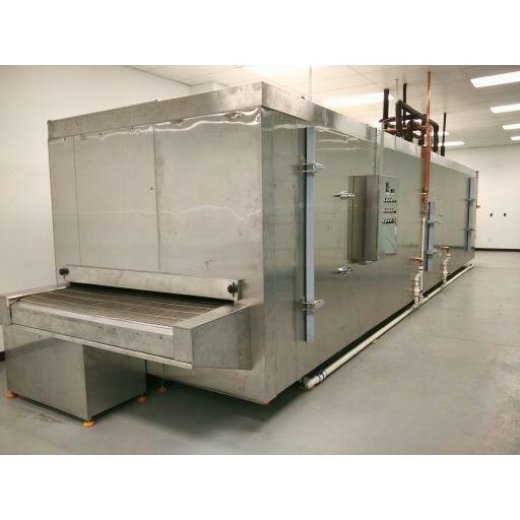 Tunnel Quick Freezer 300kg/h Export America For Ice Cream
