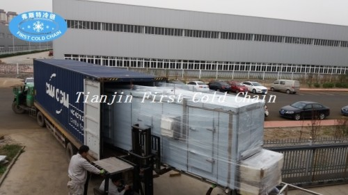 Tunnel freezer used for fish 1300kg/h with Stainless Steel from first cold chain