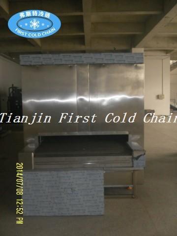 China Máquina de congelación rápida de las ventas calientes para el camarón / el congelador rápido del túnel de la alta calidad