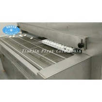 China complete in specifications 500kg/h Tunnel Freezers for bread and other pasta food