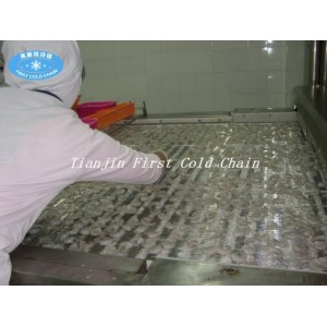 Морозильная камера тоннеля для рыбного креветочного хлеба