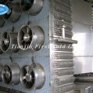 Professional Spiral Freezer Machine for Hamburger auto processing line in China