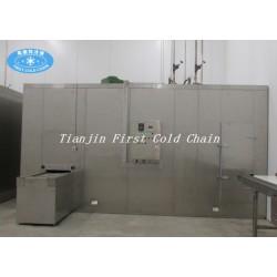 Freeze Seafood Equipment Spiral IQF Machine / Spiral Freezing in China