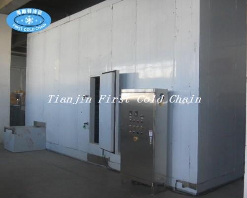 China Congelador rápido espiral doble de alta calidad 2000kg / h para la comida congelada