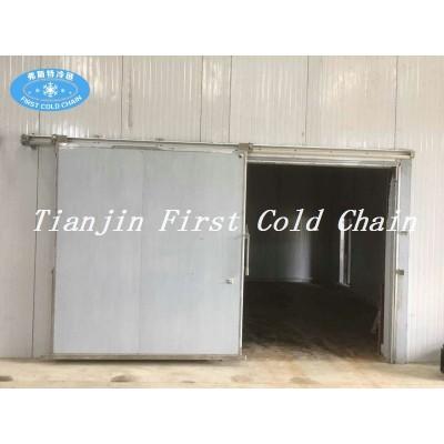 Fuente de fábrica de alta calidad cámara frigorífica para la exportación de carne Bahama