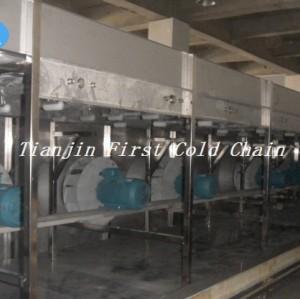 Máquina de IQF de alta calidad de China para máquina de congelación rápida / vegetal