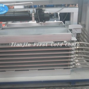 China high cost effective Plate Contact Freezer for freeze block fish