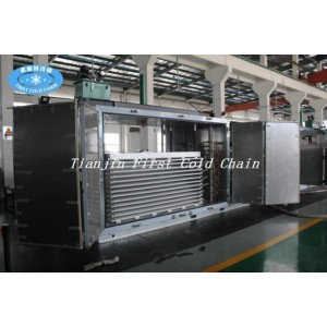 Промышленный туннель IQF плита морозильная машина для быстрого замораживания продуктов