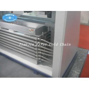 Double plaque de contact de vente chaude de Chine / congélation de plaque pour le bloc de crevettes