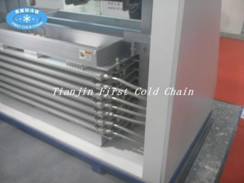 Congelador rápido de la placa de contacto de los pescados y mariscos de la venta caliente de los pescados de mar / congelador rápido del iqf