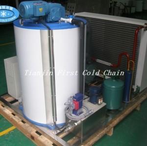 Máquina de hielo en escamas 5T / 24h para verduras y frutas
